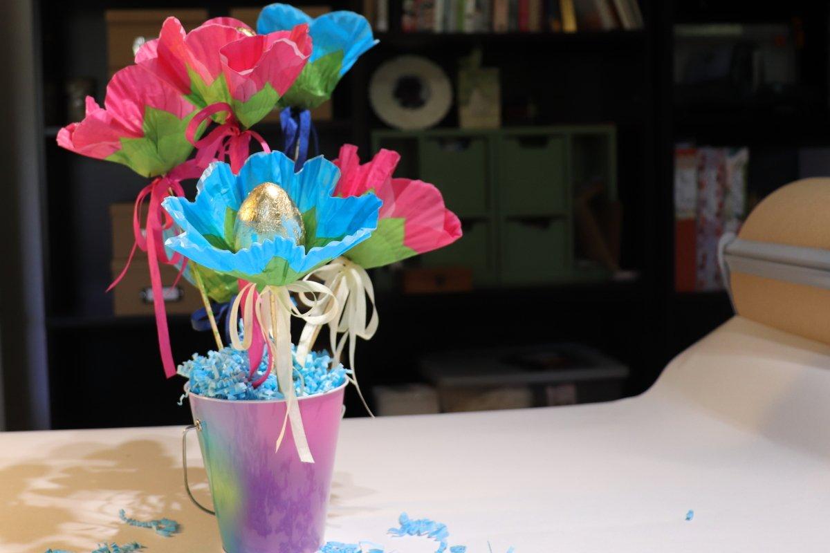 Paper Egg Flowers