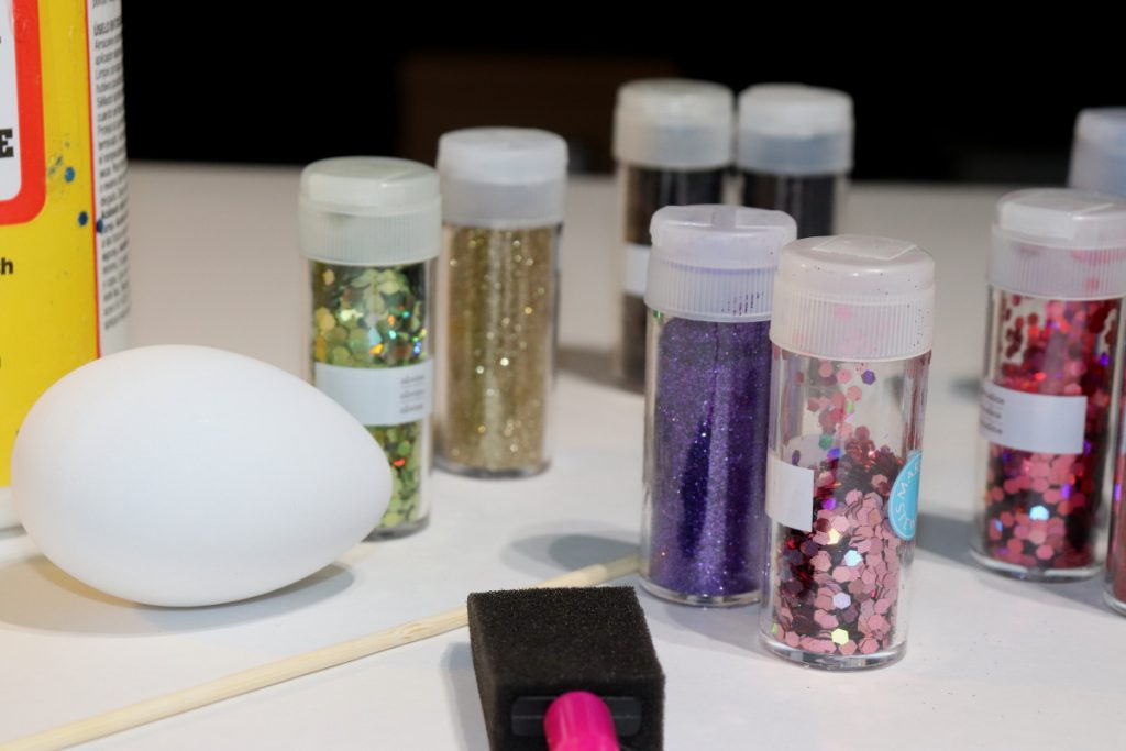 Glitter and eggs